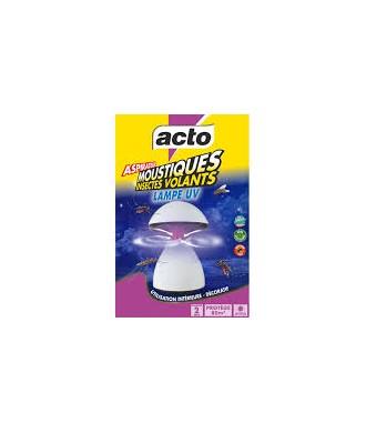 ETUI 1 LAMPE ASPIRATEUR MOUSTIQUES