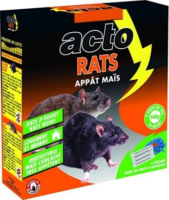 ACTO APPAT RATS MAIS 140GR (7x20G)