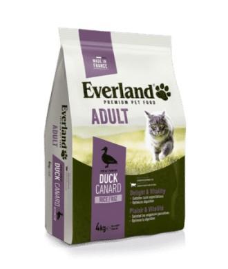 CROQUETTE EVERLAND EXTRUDE CAT ADULT 4 KG